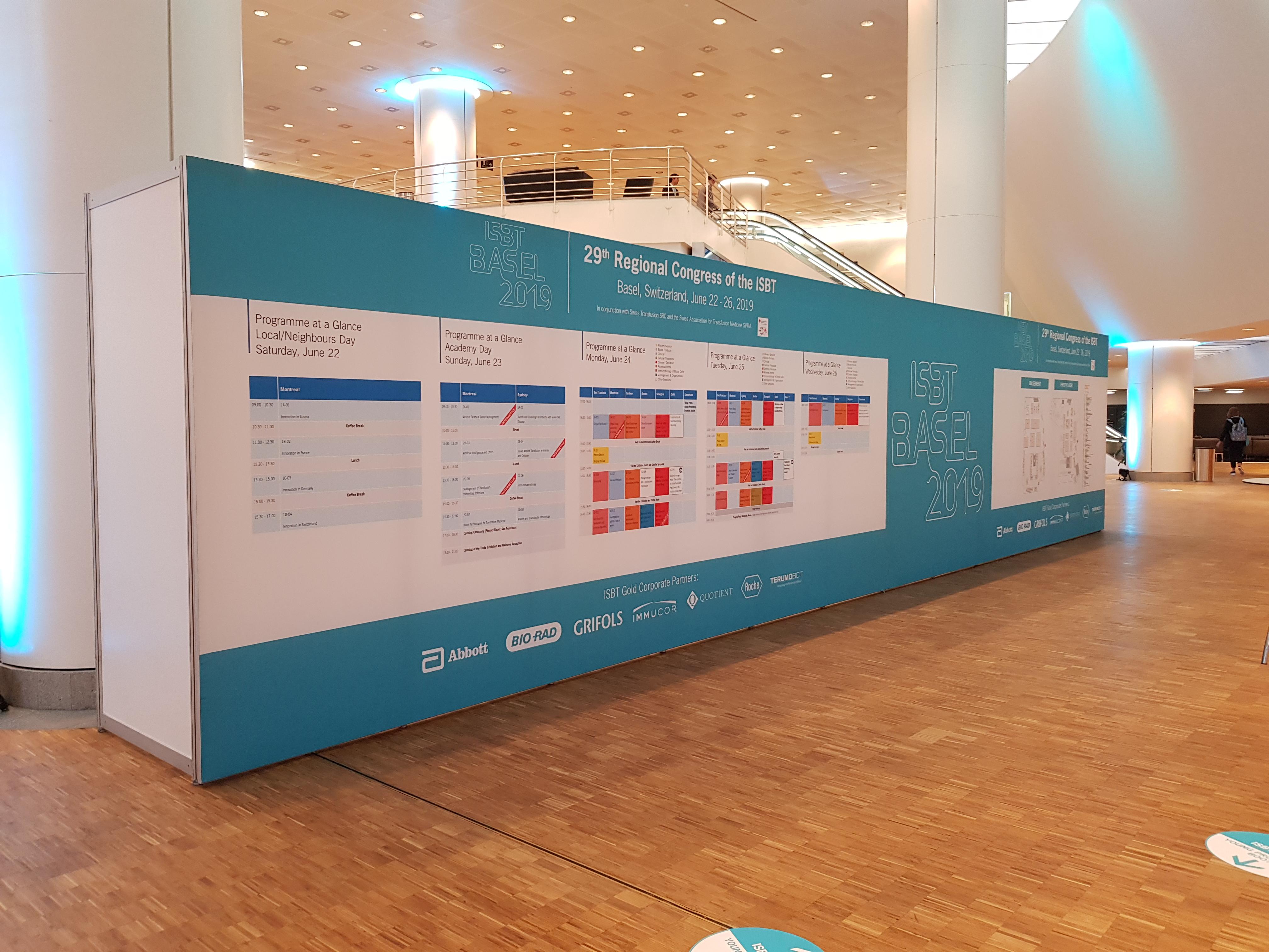 PROGRAMM ISBT Basel 2019